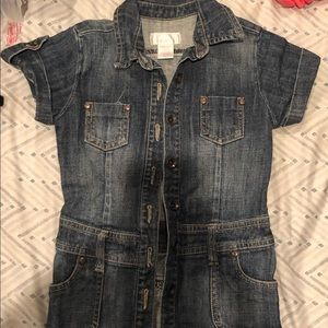 Girls Jean Dress size xs (4-5)
